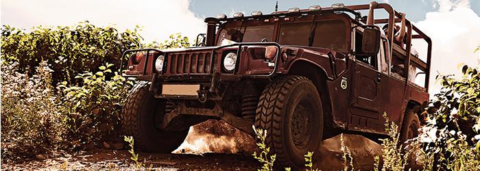 Hummer offroad fahren