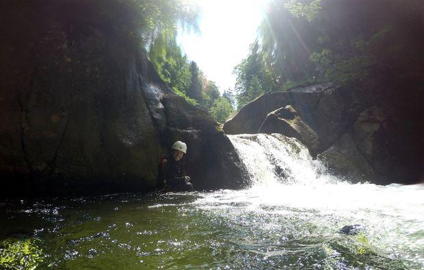 canyoning-tour-langau-wasserfalll