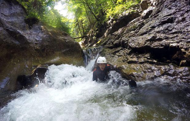canyoning-tour-langau-wildwasser