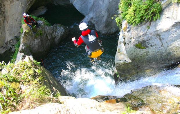 canyoning-auerklamm-tour-sautens-action