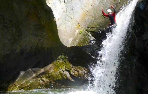 canyoning-auerklamm-tour-sautens-sprung