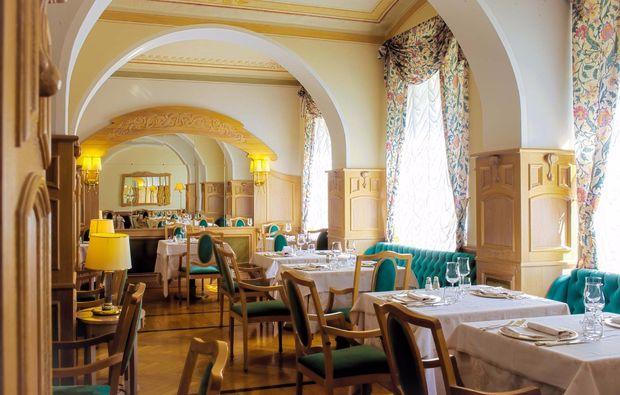 romantikwochenende-levico-terme-restaurant