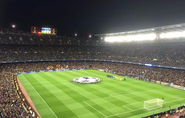Fußballspiel Barcelona