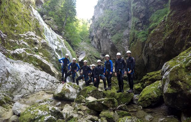 canyoning-tour-wienerbruck-gruppe