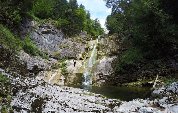 canyoning-tour-wienerbruck-wasserfall