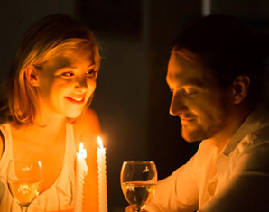 candle-light-paar