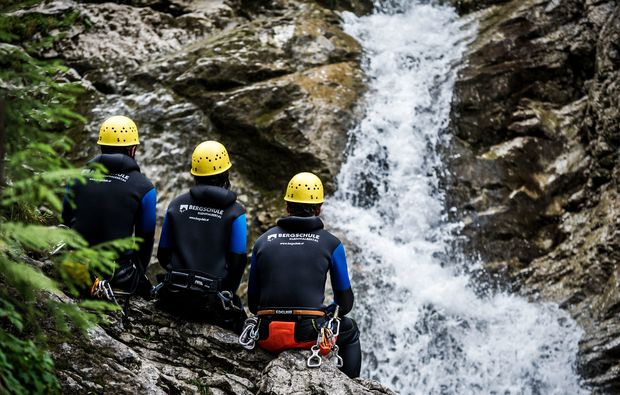 canyoning-tour-hirschegg-basiskurs