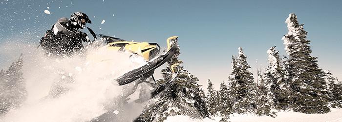 Snowmobil fahren