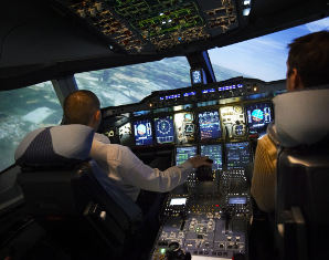 full-flight-simulator-fliegen