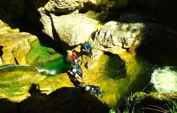 canyoning-strubklamm-golling-an-der-salzach-erkundung