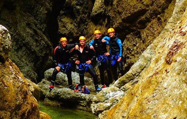 canyoning-strubklamm-golling-an-der-salzach-team