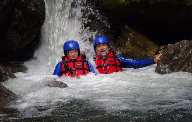 familienurlaub-abtenau-canyoning