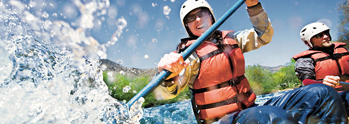 Rafting-Wochenende
