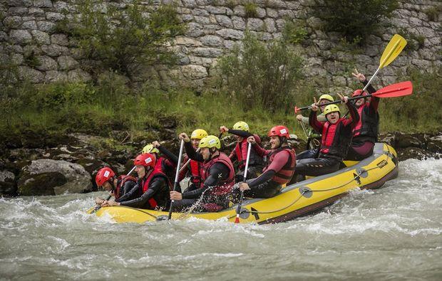 canyoning-rafting-golling-an-der-salzach-stroemung