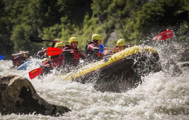 canyoning-rafting-golling-an-der-salzach-teamwork