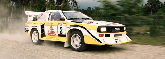 Rallye fahren