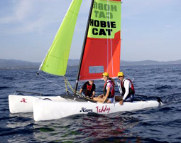 Katamaran segeln sport  Katamaran segeln als Geschenkidee | mydays