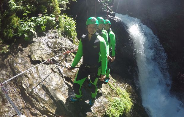 canyoning-tour-haiming-spass-am-wasser