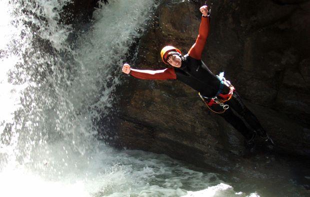 canyoning-sprung