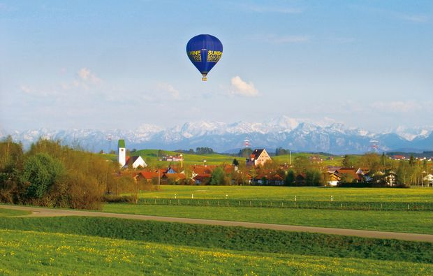 wolken-ballonfahren