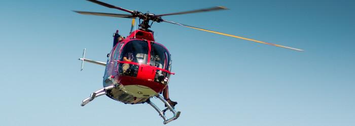 Hubschrauber fliegen