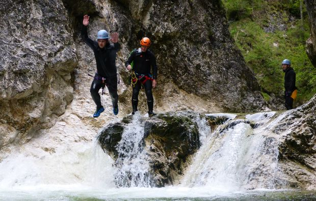 canyoning-tour-lunz-action