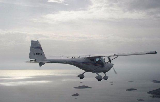 flugzeug-rundflug-ueber-die-fraenkische-seenplatte-sonne