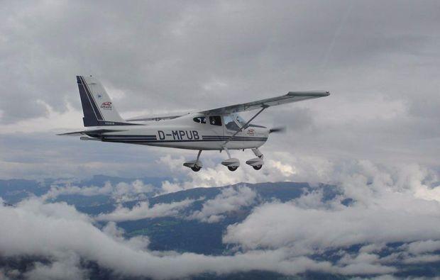 flugzeug-rundflug-ueber-die-fraenkische-seenplatte-wolken