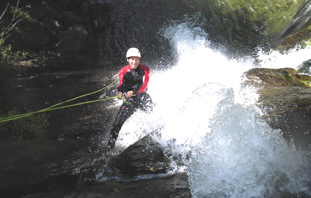canyoning-action