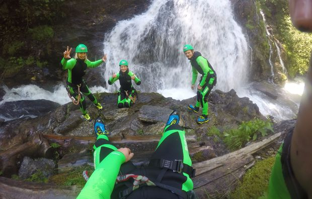 action-canyoning-und-rafting-package-haiming-zwei-touren