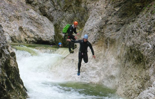traunsee-canyoning
