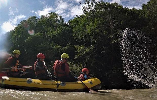 rafting-tour-golling-an-der-salzach-teamwork
