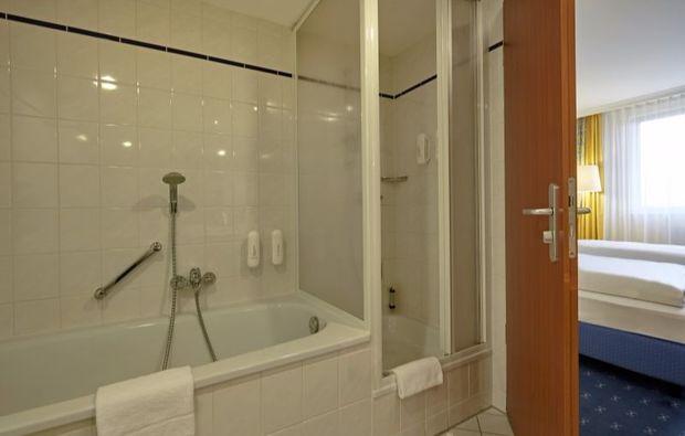 romantikwochenende-kassel-dusche