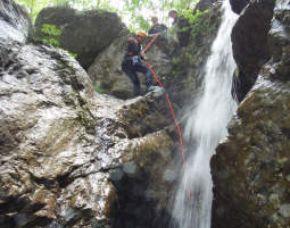 Canyoning-Slowenien