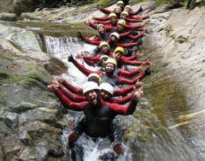 Canyoning-Soca-gruppe