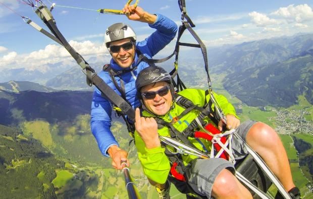 gleitschirm-tandemflug-maria-alm-paragliding