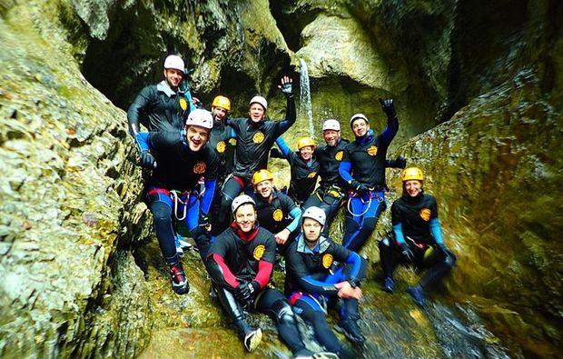 canyoningtour-golling-an-der-salzach-teamwork