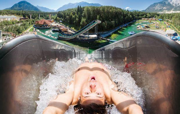 aktivurlaub-obsteig-panorama-wasserrutsche
