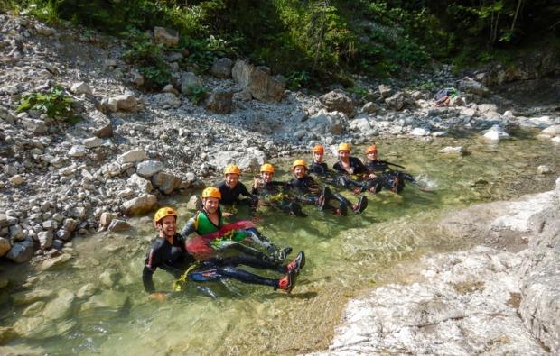 canyoning-tour-achenkirch-fun