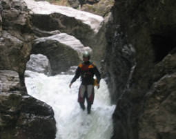 canyoning-schlucht