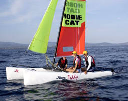 Katamaran segeln  Katamaran segeln Schnupperkurs in Chieming als Geschenke | mydays