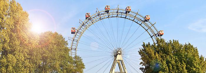 Genuss im Wiener Riesenrad