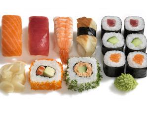 sushi-menue