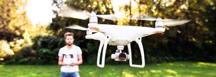 Drohnen fliegen