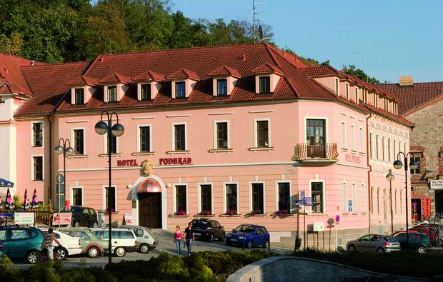 romantikwochenende-hlubok-nad-vltavou-unterkunft