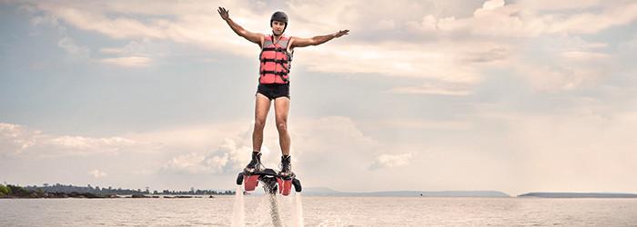 Flyboard – Adrénaline, fun et émotions garantis!