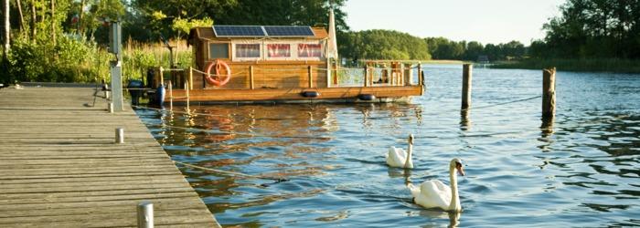 Hausboot Übernachtung