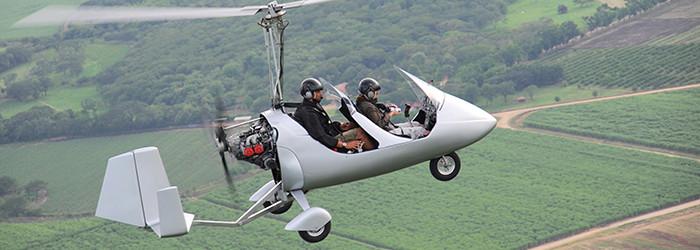 Tragschrauber Rundflug