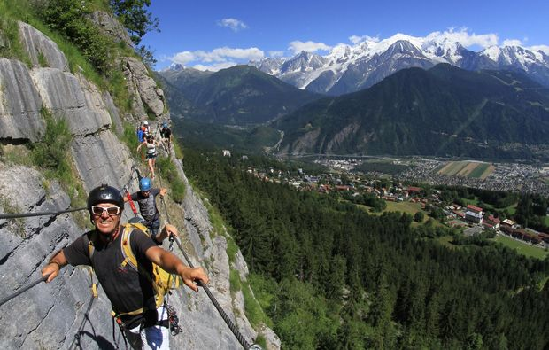 Klettersteig Chamonix : Via ferreta in chamonix als geschenkidee mydays