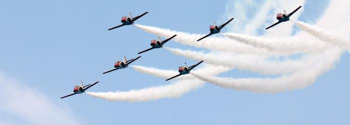 Akrobatikflug